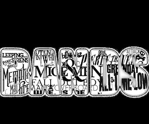 bands, of mice and men, and sleeping with sirens image