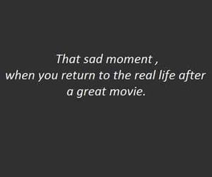 movie, sad, and quotes image