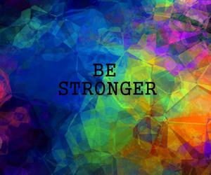 be, color, and Stronger image
