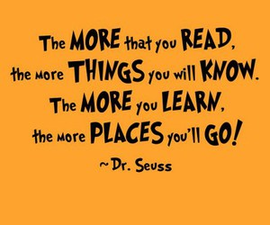 quote, Dr. Seuss, and text image