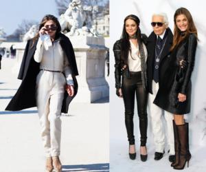 fashion, karl lagerfeld, and lindsay lohan image