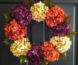 wreath, wedding decorations, and wreaths image