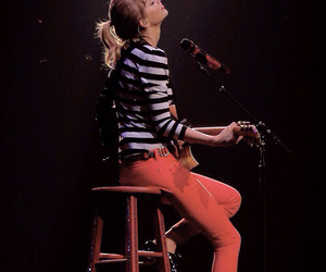 Taylor Swift, red, and music image