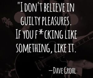 quote, dave grohl, and pleasure image