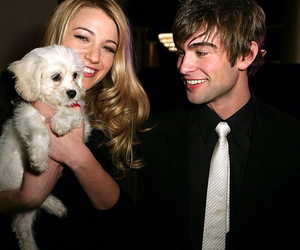 blake lively, Chace Crawford, and puppy image