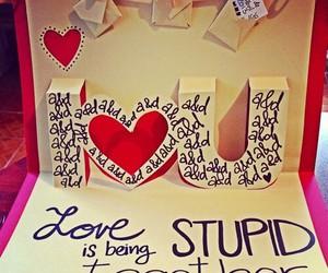 love and stupid image