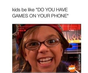 funny, kids, and game image