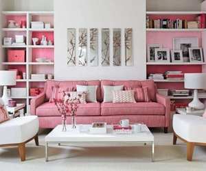 decor, girly, and living room image