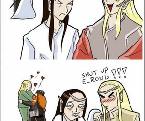 elrond and thranduil image