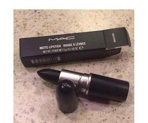 black, lipstick, and soul image