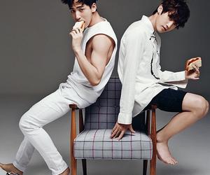 b1a4, baro, and jinyoung image