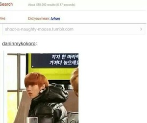 exo, luhan, and funny image