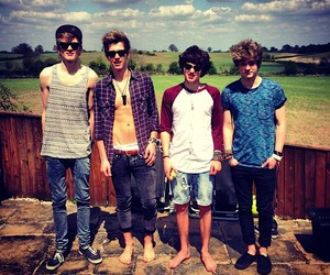 the vamps, boy, and tristan evans image