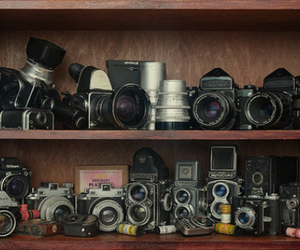 camera, hipster, and vintage image