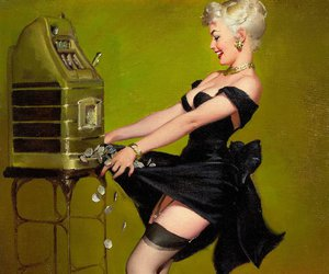 gil elvgren, Pin Up, and girl image
