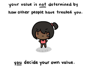 chibird, quote, and value image