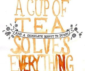 tea, biscuits, and chocolate image