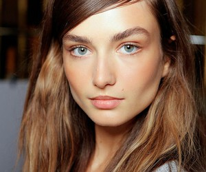 model, beauty, and eyebrows image