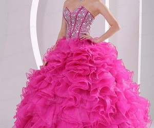 dress, ball gown, and fashion image