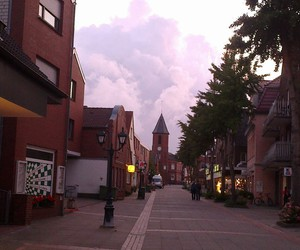 city, stadt, and sommer image