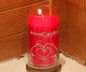 candle, cocooning, and red image