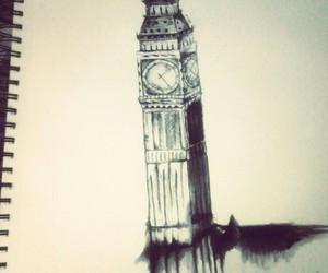 dibujo, london, and watercolor image