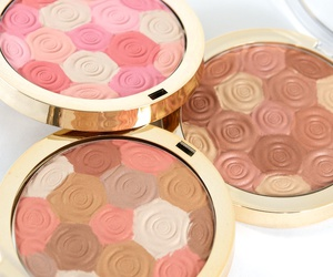 blush, bronze, and makeup image