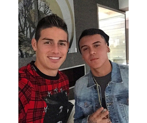 boy, real madrid, and james rodriguez image