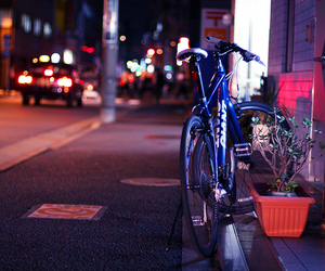 bicycle, canon, and japan image