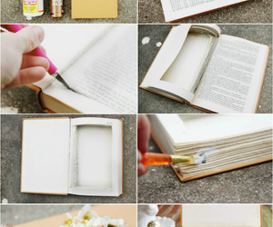 diy, book, and ideas image