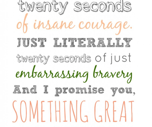 courage and 20 seconds image