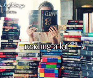 books, girl, and hunger games image