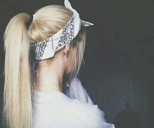 beautiful, blonde, and grunge image