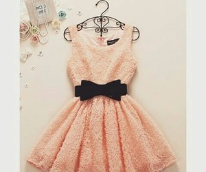 beautiful, dress, and young image