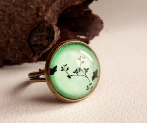 green, ring, and spring image
