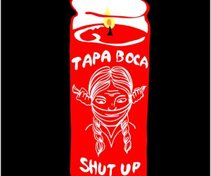 boca, fire, and bruja image