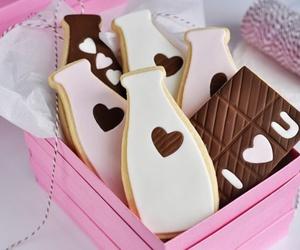 box, heart, and milk image