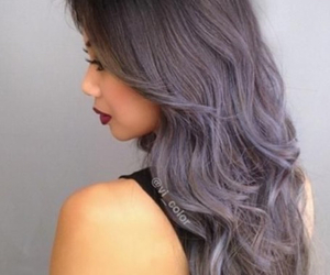 hair, silver, and inspiration image