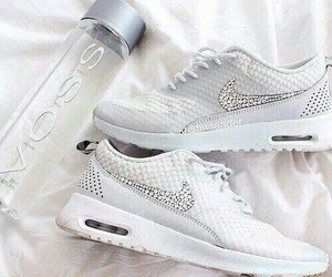 nike, white, and voss image
