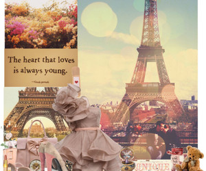 fashion, heart, and paris image