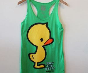 shirt and duck image