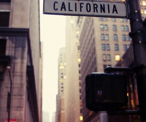 california, city, and street image
