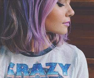 crazy, eyeliner, and girl image