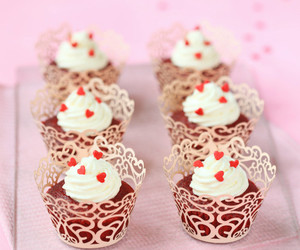 cupcake, sweet, and chocolate image