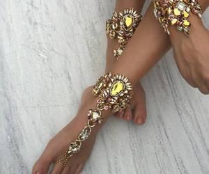 fashion, bracelet, and diamonds image