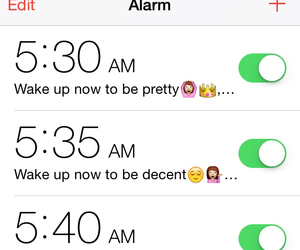 alarm and funny image
