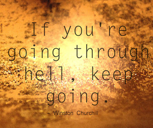 gold, qoute, and keep going image