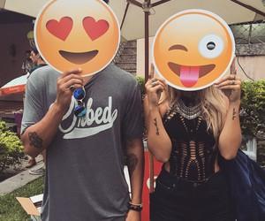 love, emoji, and boy image