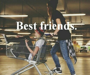 best friends, cool, and funny image