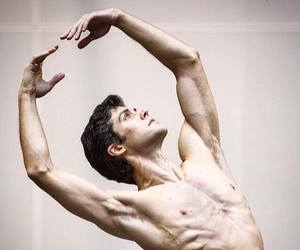 ballet, man, and Roberto Bolle image